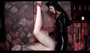 Groping domina smonking and pounding