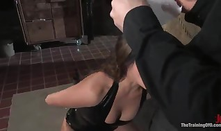 Devaun Has A Real Cock In Her Gullet And A Kinky Outrageously From Isis