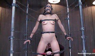 Lyla Storm Has Shackled And Appreciates Smut Pubic hair Frigging