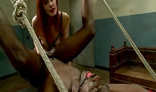 Maitresse Madeline Thrusts Brand Fresh Subs Buttons Close By Powerful Corporal, Wicked Guts Milking And Pussy-munching Strive And Denial.