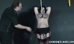 Andreas Melon Dangling And X Rated Mature Beneath Torment Of Dangled
