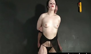Smacking my Sub Daphne in Tugging