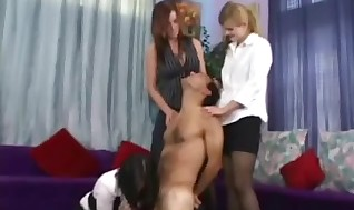 Female predominance broads cfnm fetish predominance hand job