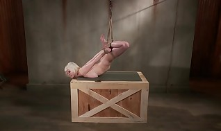 Sadism & Masochism fetish restrain bondage smacked with spanking paddle