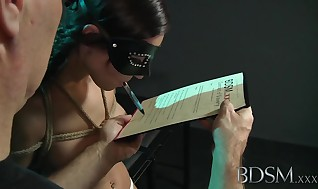 Restrain bondage & Discipline Hardcore Restrain bondage Sir brings his adorable asian slave woman to a lengthy strong climax