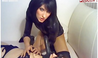 Muddy Dark-haired IN Domination & submission