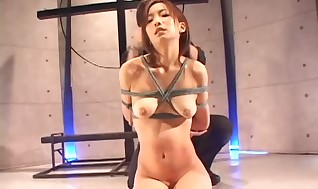Some molten and xxx Japanese restrain bondage