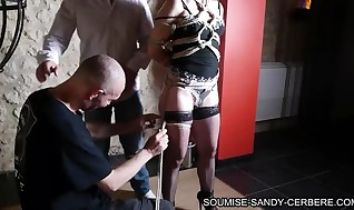 french shibari restrain bondage soumise sandy no lovemaking