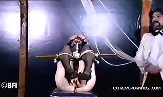 Oral restrain bondage play