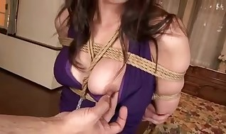 Jap Mummy Bondage & Discipline Instructing Part 2 Censored