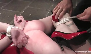 Ginger Arachnia Webb Has Hosed And Tantalized
